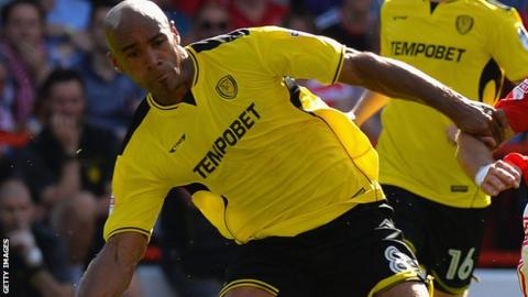 Chris O'Grady in action for Burton