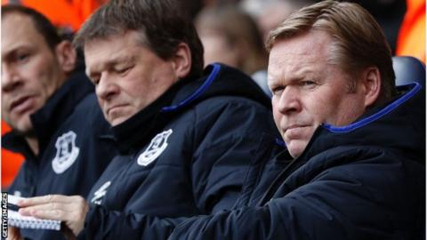 No understanding & easy to play against - ex-Evertonians on Koeman woes