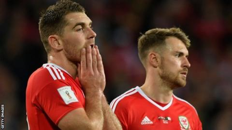 Sam Vokes and Aaron Ramsey