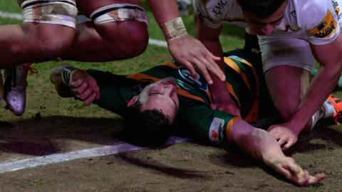 Northampton and Wales' George North has been at the centre of several incidents where the treatment of head injuries has been questioned