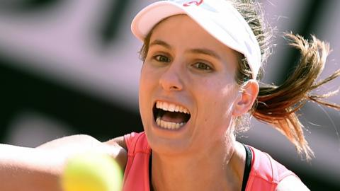 Johanna Konta at French Open