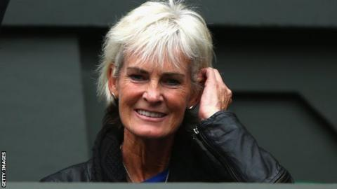 Great Britain Fed Cup captain Judy Murray