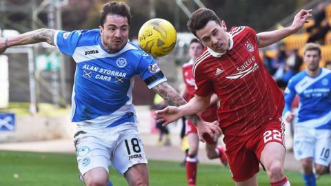 Aberdeen entertain St Johnstone on Saturday
