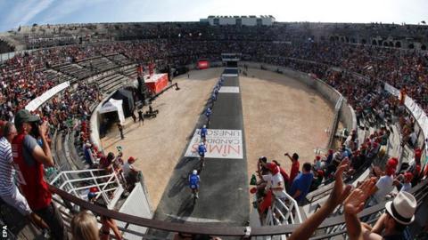 BMC win Vuelta opening stage