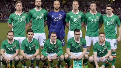 Republic of Ireland team