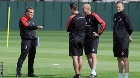 Brendan Rodgers, Chris Davies