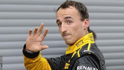 Renault confirms Robert Kubica for post-Hungarian GP test