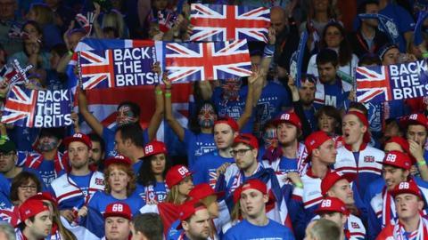 Great Britain fans
