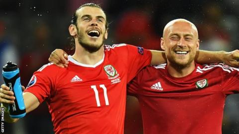 Gareth Bale and David Cotterill