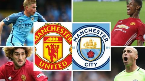 Kevin De Bruyne, Marcus Rashford, Willy Caballero and Marouane Fellaini are all in contention for selection - but would they make your starting XI?