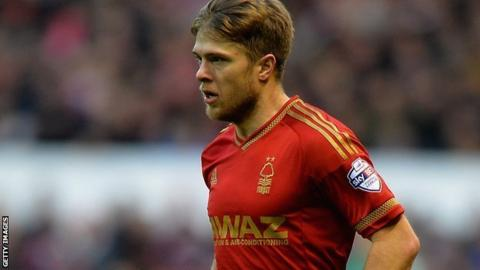Nottingham Forest's Jamie Ward