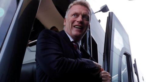 David Moyes arrives