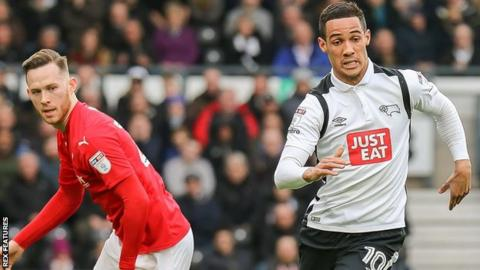 Derby's Tom Ince