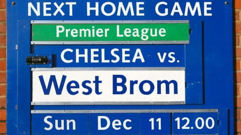 Chelsea v West Brom