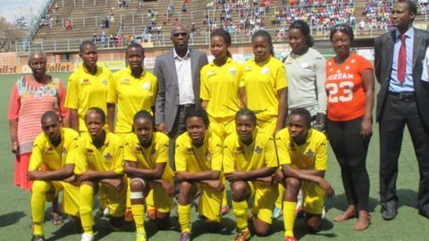 Zimbabwe's national women's team
