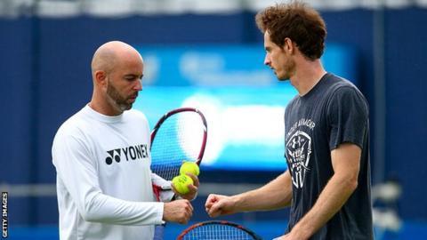 Jamie Delgado and Andy Murray