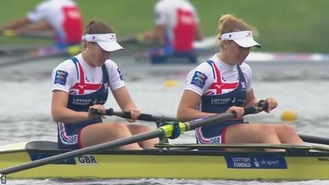 Karen Bennett and Holly Norton