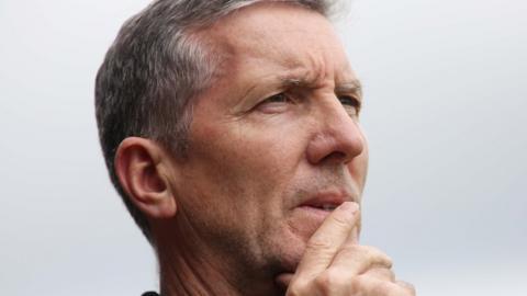 Derry manager Damian Barton