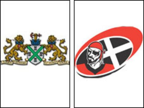 Plymouth Albion and Cornish Pirates