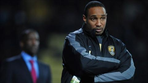 Former Notts County manager Paul Ince