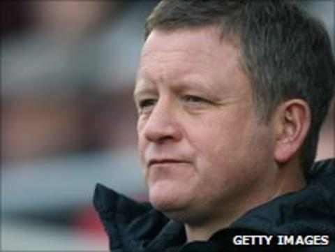 Oxford United boss Chris Wilder