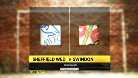 Highlights Sheffield Wed v Swindon