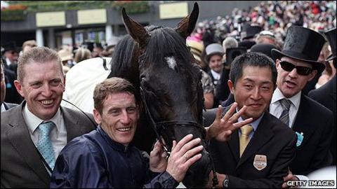 Yeats with Coolmore connections