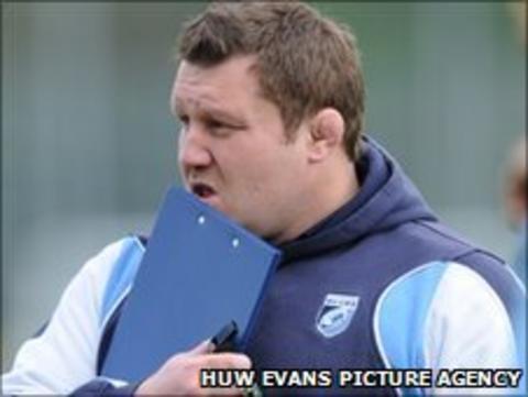Cardiff Blues coach Dai Young