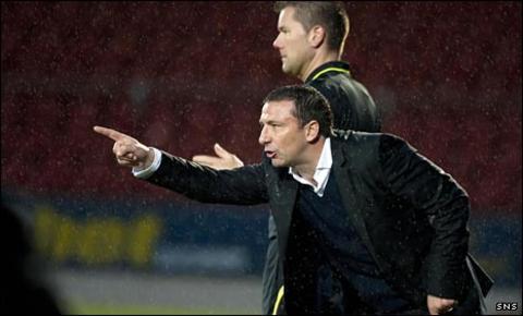 St Johnstone manager Derek McInnes