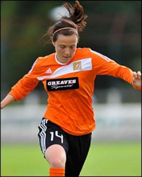 Glasgow City scorer Rachel Corsie