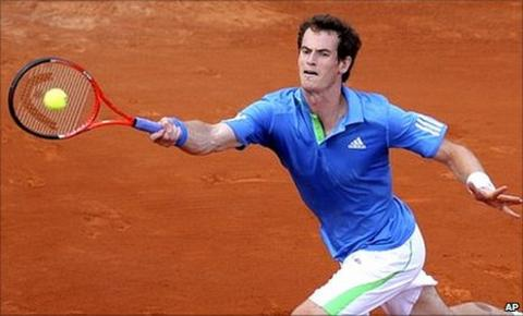 Andy Murray lost the first two sets on Monday night