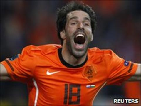 Former Holland international Van Nistelrooy