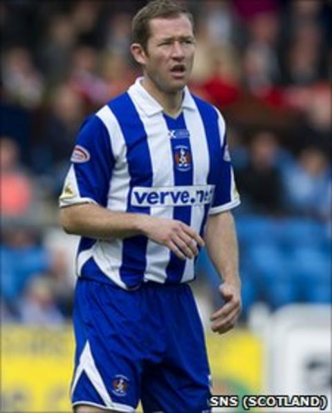 Frazer Wright has left Kilmarnock to join St Johnstone