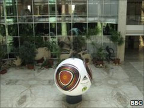 Caf headquarters in Cairo