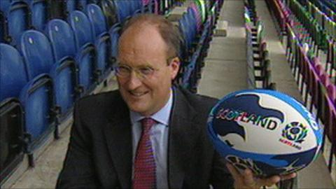 Former SRU chief executive Gordon McKie