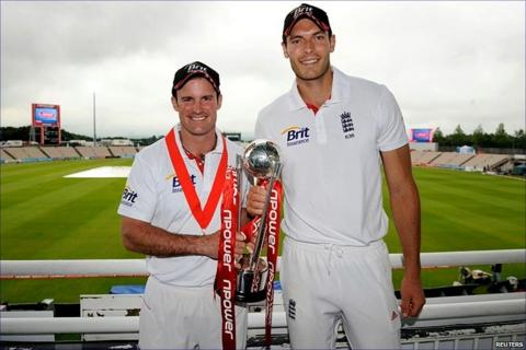 Andrew Strauss and Chris Tremlett