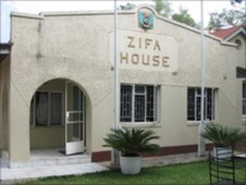 The headquarters of the Zimbabwe Football Association