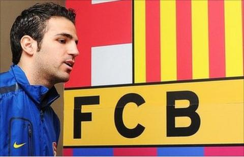 Cesc Fabregas has been linked with a return to Barca for several seasons
