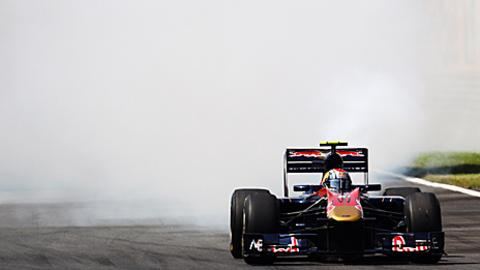 Jaime Alguersuari's Toro Rosso