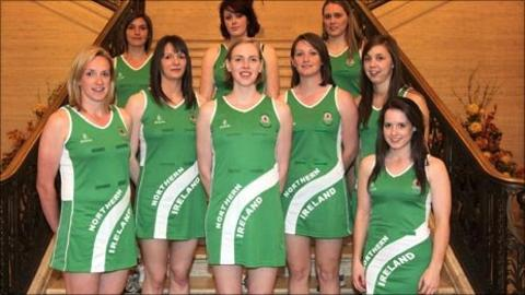 The Northern Ireland netball team
