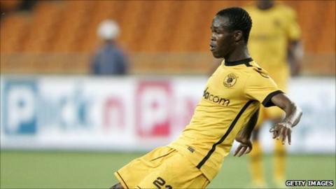 Zimbabwe striker Knowledge Musona
