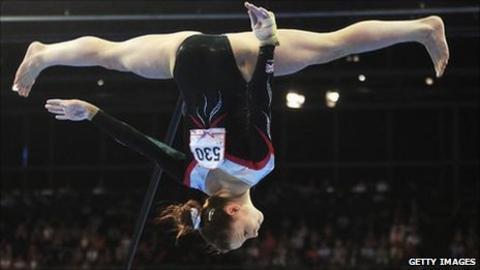 Hannah Whelan competing in Berlin