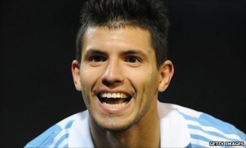 Atletico Madrid and Argentina striker Sergio Aguero