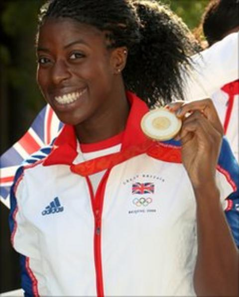 Olympic 400m champion Christine Ohuruogu