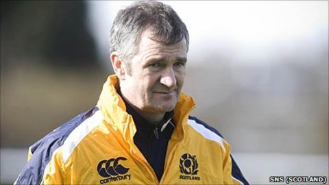 Former Scotland head coach Frank Hadden