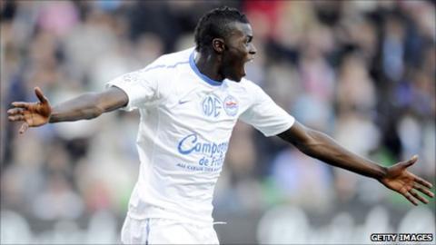 France youth striker Mbaye Niang