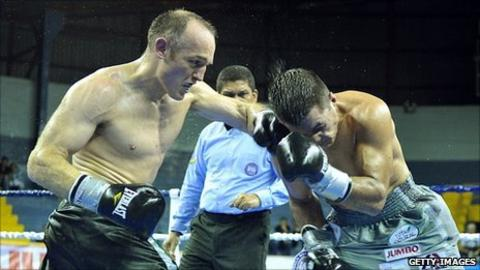 Brian Magee (left) and Jaime Barboza