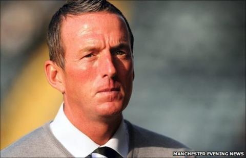 New Rochdale boss Steve Eyre