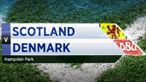 Scotland V Denmark