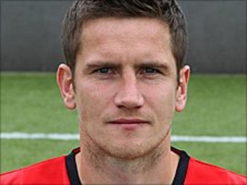 Crewe Alexandra midfielder Lee Bell